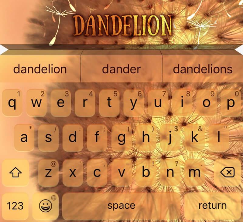 EasyType Themes- Dandelion