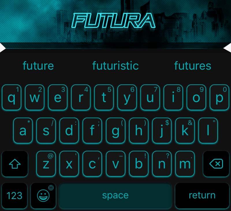 EasyType Themes - Futura