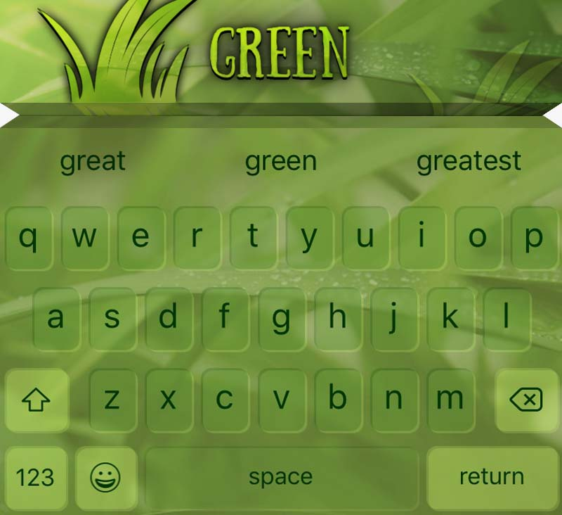 EasyType Themes - Green
