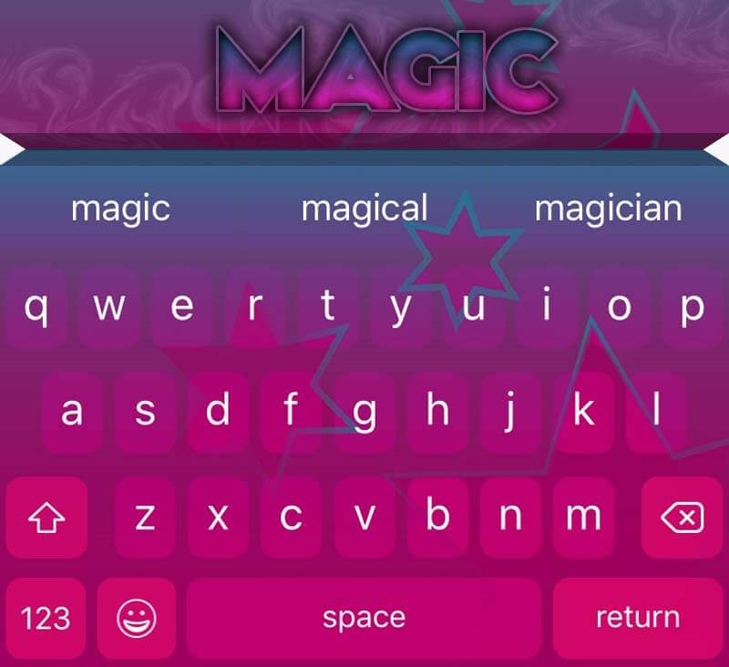 EasyType Themes - Magic