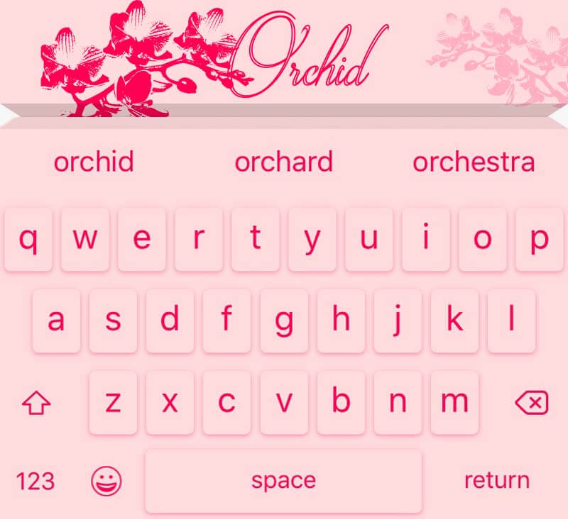 EasyType Themes - Orchid
